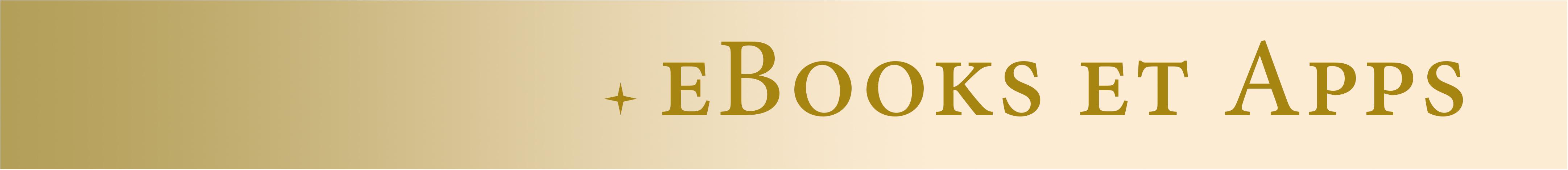 Ebooks et apps