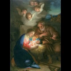 Cartes de voeux - Nativité (Mengs)
