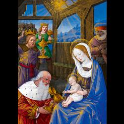 Cartes de vœux - L'Adoration des Mages