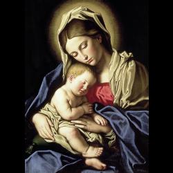 Vierge a l'enfant Il Sassoferrato