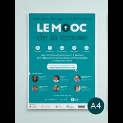 Poster A4 en pack de 4 (MOOC)