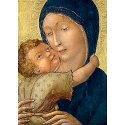 Cartes de vœux - Vierge de Tendresse